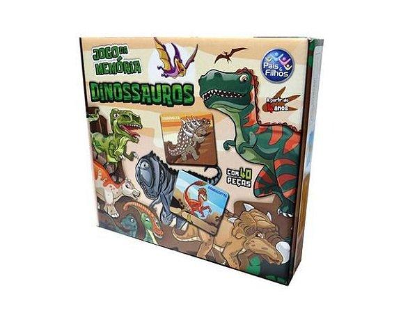 Jogo da Memória Dinossauro 7269 Pais e Filhos
