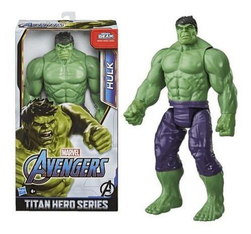 Boneco Hulk Avengers 30cm E7475 - Hasbro