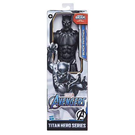 Boneco Pantera Negra Avengers 30cm E7876 Hasbro