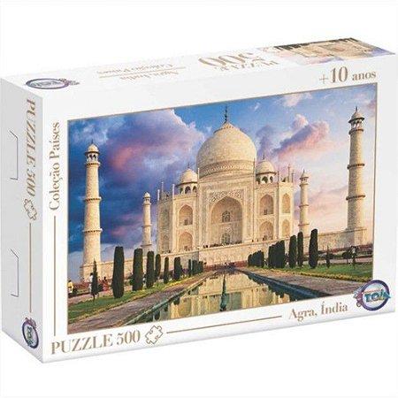 Quebra Cabeça Taj Mahal Agra Índia 500 Peças 12174 Toia