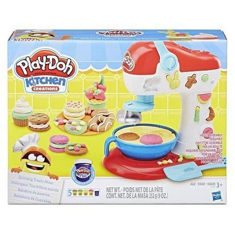 Massa de Modelar Play-Doh Batedeira Cupcake E0102 - Hasbro