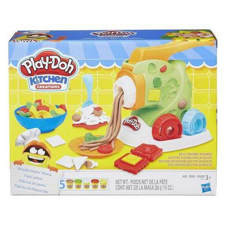 Massa de Modelar Play-Doh Fábrica de Macarrão B9013 - Hasbro