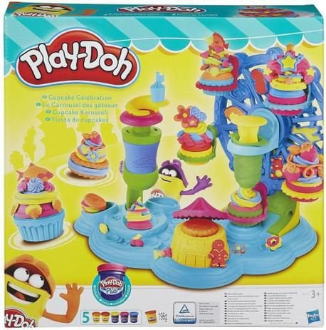 Massa de Modelar Play-Doh Roda Gigante de Cupcake B1855 - Hasbro