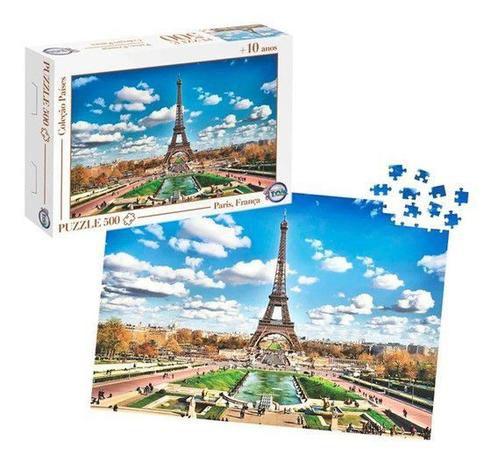 Quebra Cabeça Puzzle França 500 Peças 12173 Toia
