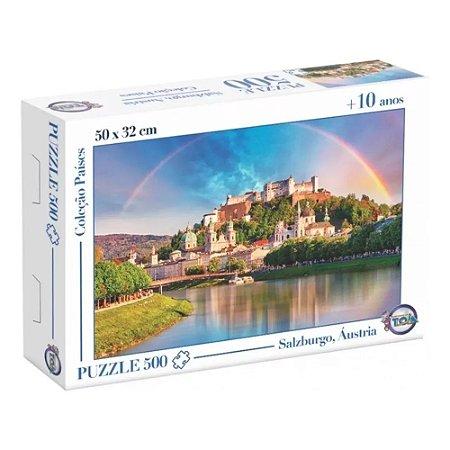 Quebra Cabeça Puzzle Salzburgo 500 Peças 12172 Toia
