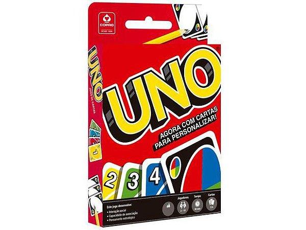 Jogo Uno 114 cartas Copag