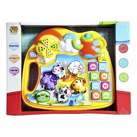 Teclado Animais DMT4335 DM Toys