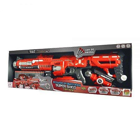 Lançador de Dardos  Shot Power DMT5632 DM Toys