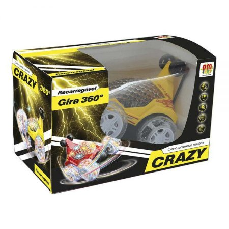 Carro Controle Remoto Crazy DMT5739 DM Toys