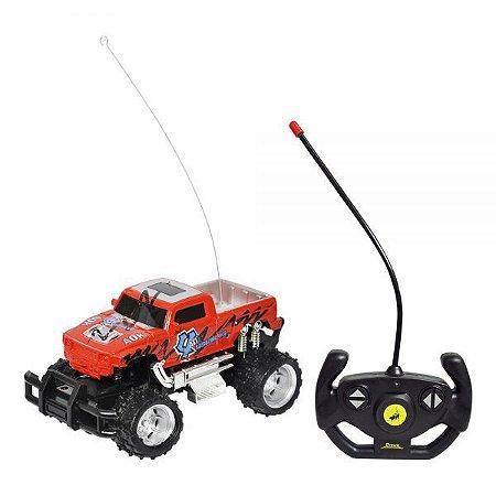 Carro Controle Remoto Pick-Up Champion DMT5058 DM Toys
