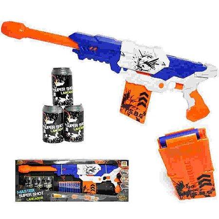 Lançador Shot Master DMT5636 DM Toys