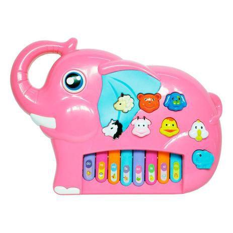 Teclado Elefante Musical DMT5530 DM Toys