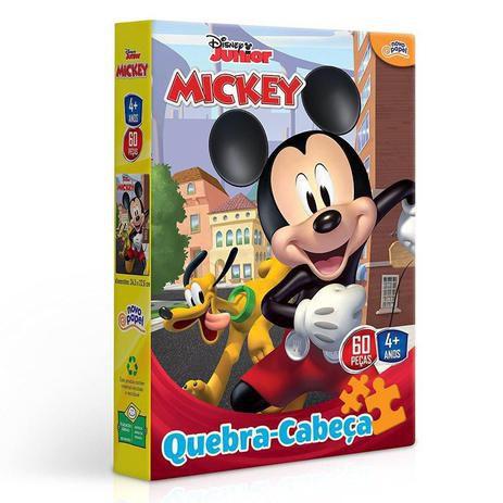 Quebra Cabeça Mickey 60 peças 8000 Toyster