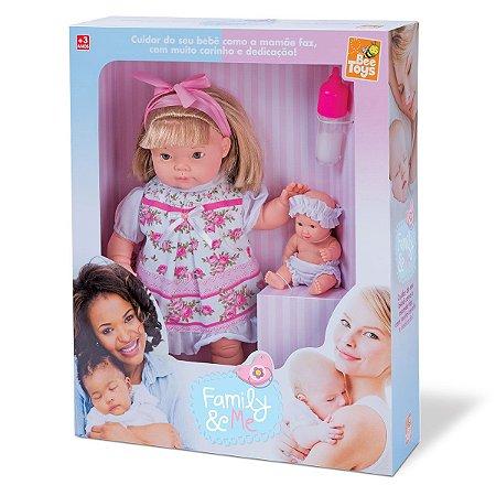 Boneca Family & Me 0812 Bee Toys