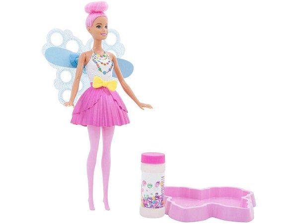 Barbie Fada Bolhas DVM95 Mattel