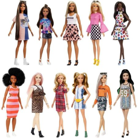 Barbie Fashionistas Sortidas FBR37 Mattel - Unidade