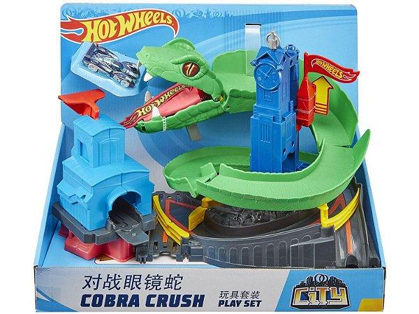 Hot Wheels Ataque da Cobra FNB20 Mattel