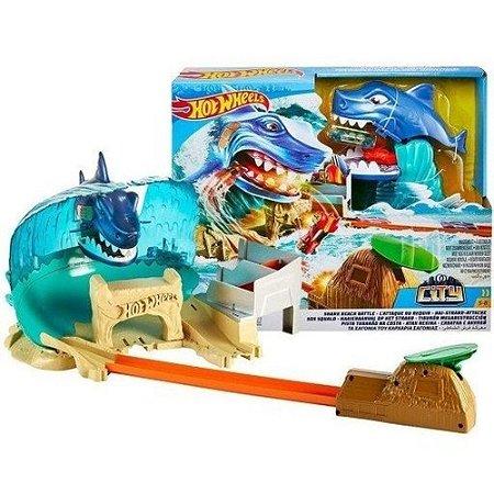 Hot Wheels Ataque do Tubarão FNB21 Mattel