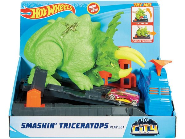 Hot Whells Triceratops GBF97 Mattel