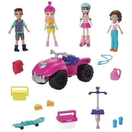 Polly Pocket Pacote de Atividades GNH09 Mattel