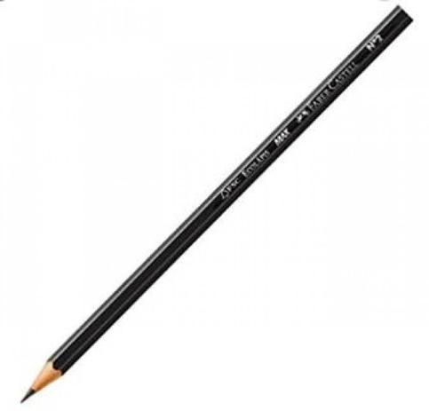Lápis Preto Nº 2 Faber Castell