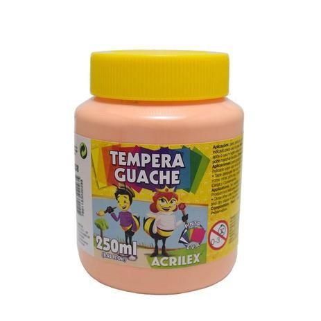 Tinta Guache 250ml Amarelo Pele Acrilex