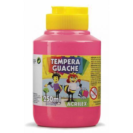 Tinta Guache 250ml Rosa Acrilex