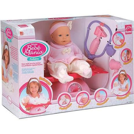 Boneca Bebê Pediatra 5360 Roma