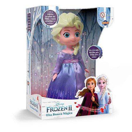 Boneca Dançarina Frozen 2 Musica 40435 Toyng
