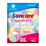 Algodão Bola Colorido 40g - Sancare