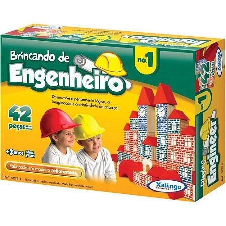 Brincando de Engenheiro no.1 42 peças 52754 Xalingo