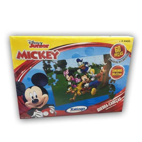 Quebra Cabeça Mickey 60 peças 18998 Xalingo