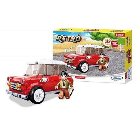 Bloco de montar Retrô mini carro 150 peças 01332 Xalingo
