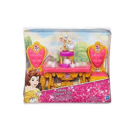 Cenário Princesas Disney Hora do Chá da Bella B5310/B5309 Hasbro