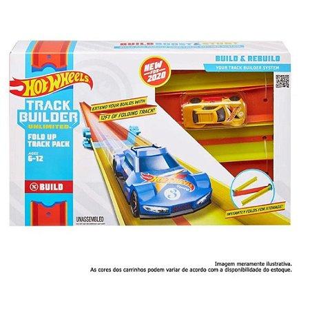 Hot Wheels Track Builder Pista Dobrável GLC87 Mattel