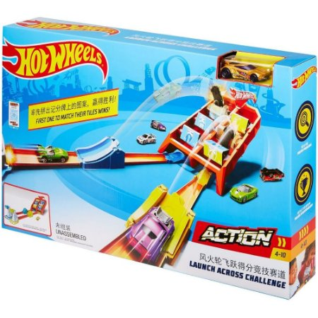 Hot Wheels Competição de Batidas GBF89 Mattel