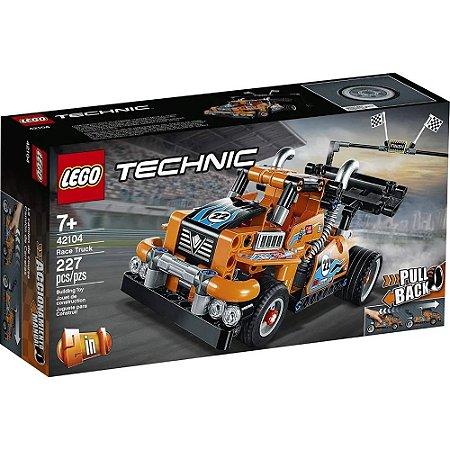 Lego Technic Caminhão de Corrida 227 peças 42104 Lego