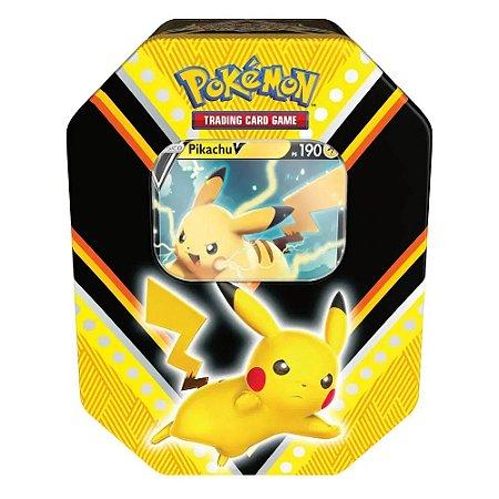 Pokemon Lata Poderes V Pikachu Copag