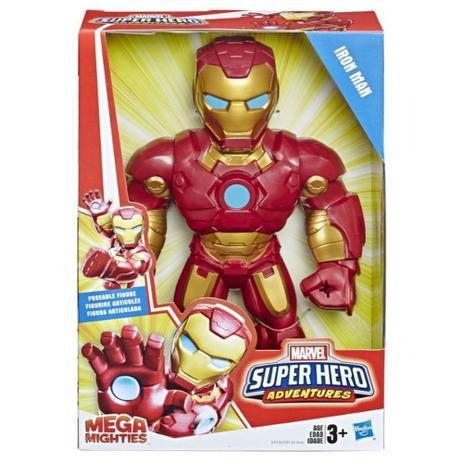 Boneco Homem de Ferro Playskool Super Hero Adventures Marvel E4132 - Hasbro