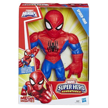 Boneco Homem Aranha Playskool Super Hero Adventures Marvel E4132 Hasbro