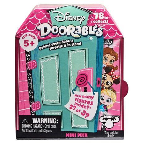 Doorables Disney Surpresa com 2 ou 3 Personagens 5082 DTC