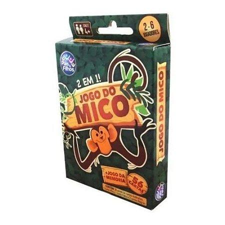 Jogo do Mico 2 em 1 56 cartas 7531 Pais e Filhos