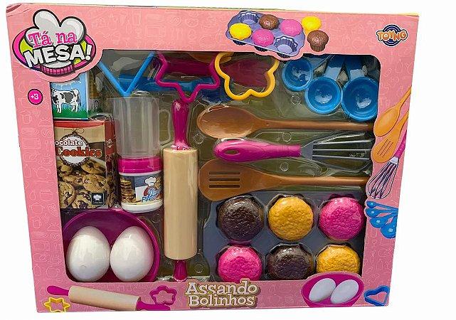 Kit Cozinha Confeitaria Tá na mesa 36904 Toyng