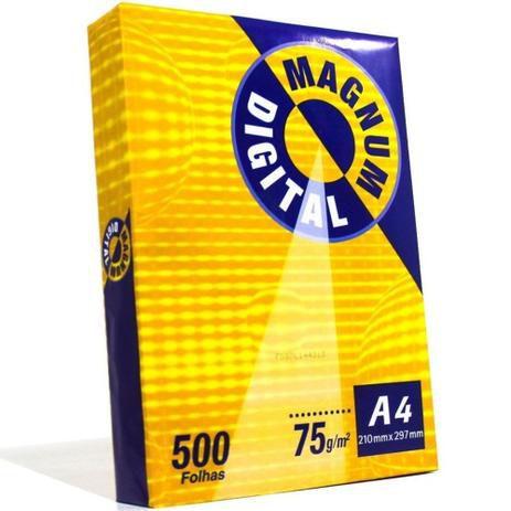 Papel Sulfite A4 Magnum com 500 folhas