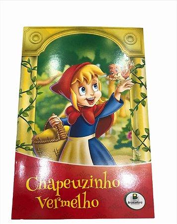 Livro de História Infantil Clássicos Chapeuzinho Vermelho