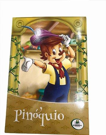 Livro de História Infantil Clássicos Pinóquio