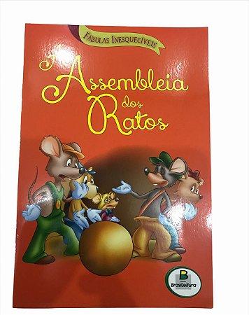 Livro de História Infantil Fabulas A Assembleia dos Ratos