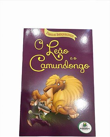 Livro de História Infantil Fabulas O Leão e o Camundongo