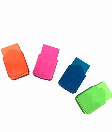 Borracha Plástica Neon Color Leo & Leo - Unidade