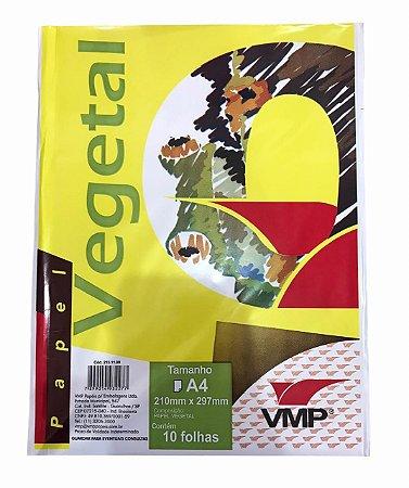 Papel Vegetal A4 com 10 folhas VMP